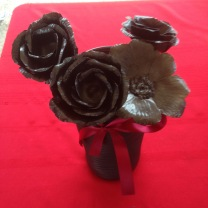 Blacksmith iron roses